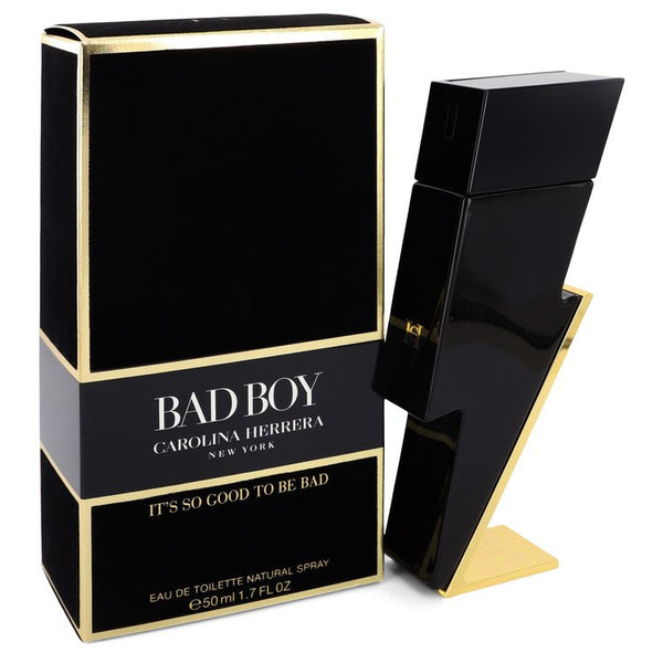 Bad Boy Eau De Toilette Spray By Carolina Herrera