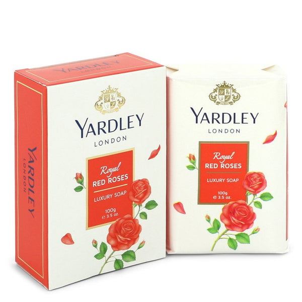 Yardley London Soaps Royal Red Roses Luxury Soap By Yardley London