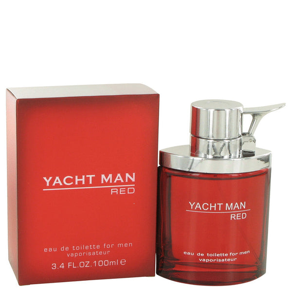 Yacht Man Red Eau De Toilette Spray By Myrurgia