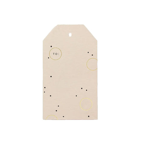 Joyful Dots Gift Tags
