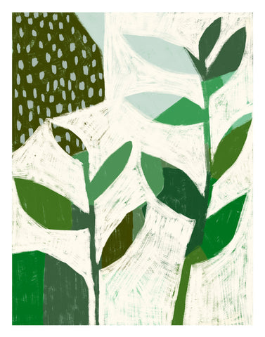 Sarah Golden - Abstract Plant No. 1 Print