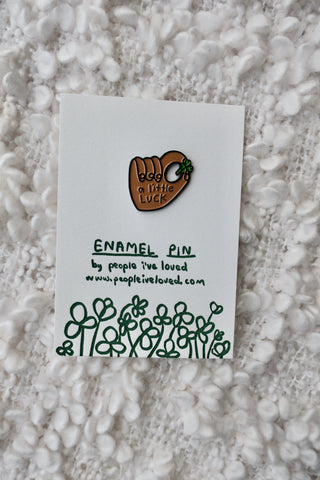 Enamel Pin - A Little Luck