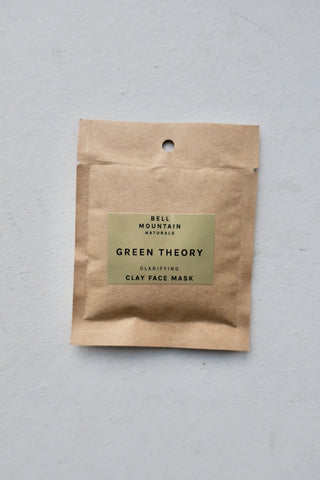 Green Theory Clay Face Mask, Sample Size