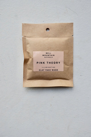 Pink Theory Clay Face Mask, Sample Size