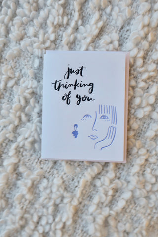Just Thinking of You Card