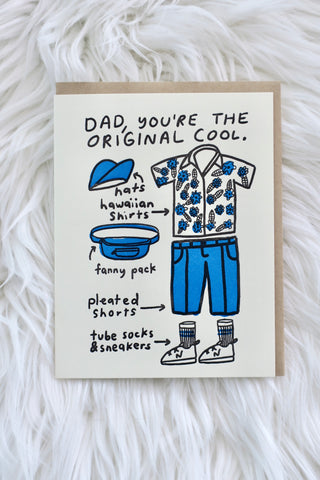 Father's Day - Original Cool Card