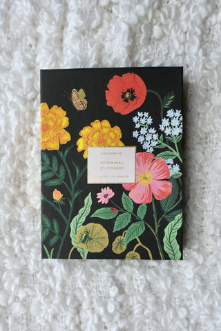 Rifle Paper Co. Botanical Social Stationery Set