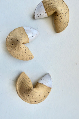 Ceramic Fortune Cookie