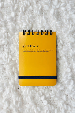 Rollbahn Spiral Notebook, Pocket Mini
