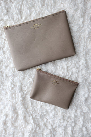 Quitterie Zipper Pouch