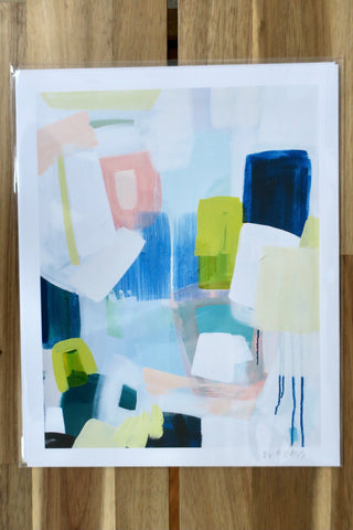 Britt Bass - Abstract Print No. 5