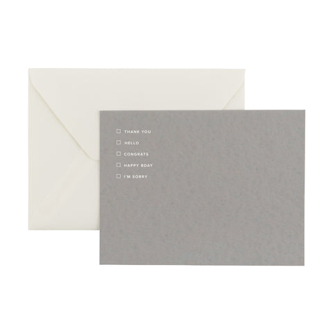 Appointed Greeting Notecard Set