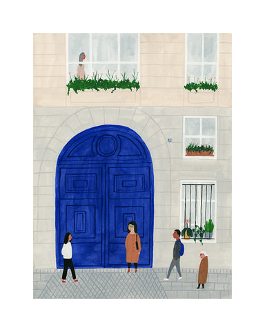 Kate Pugsley - Paris Print