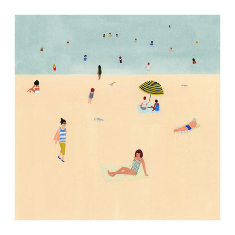 Kate Pugsley - Beach Print