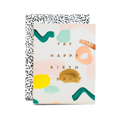 Yay Happy Birthday Card