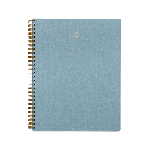 Appointed Lined Workbook