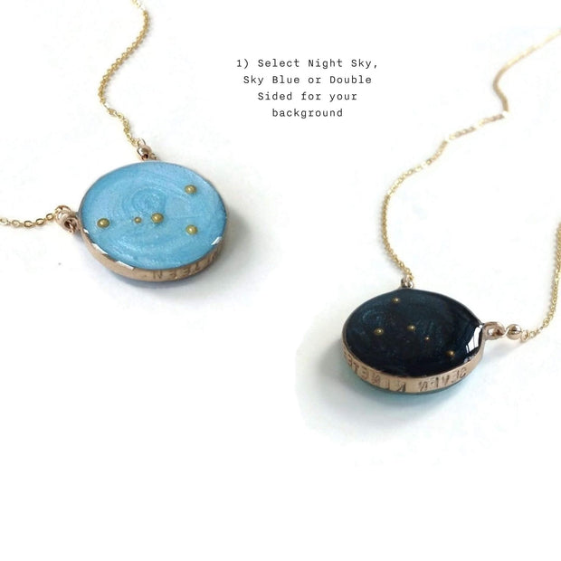Custom Constellation Necklace