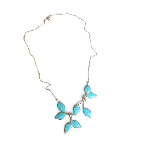 Anthos Leaf Necklace