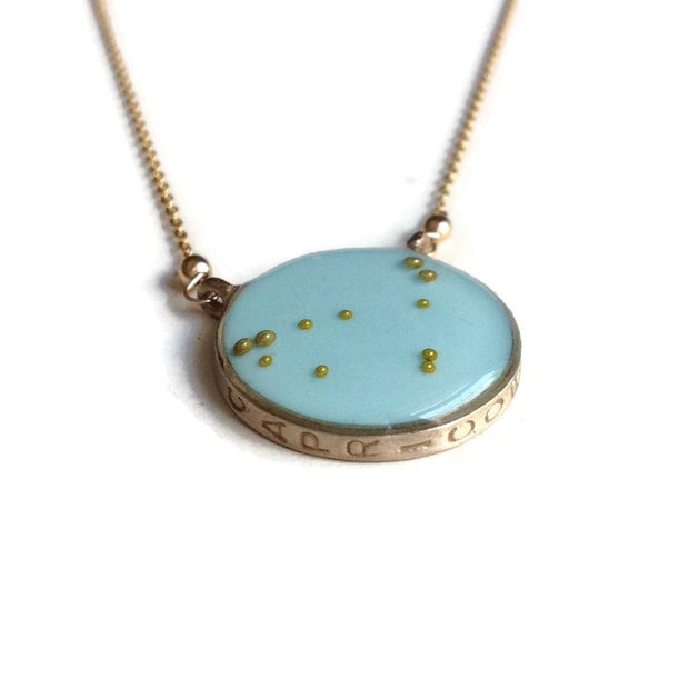 Capricorn Constellation Necklace Sample