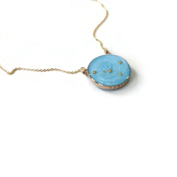 Double Sided Constellation Necklace