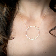 Elafri Circle Necklace Large