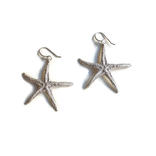 Found Starfish Earrings