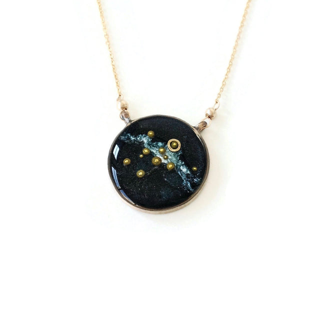 Custom Solar System Necklace