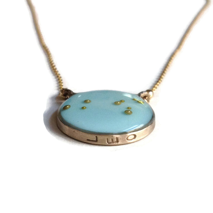 Leo Constellation Necklace Sample