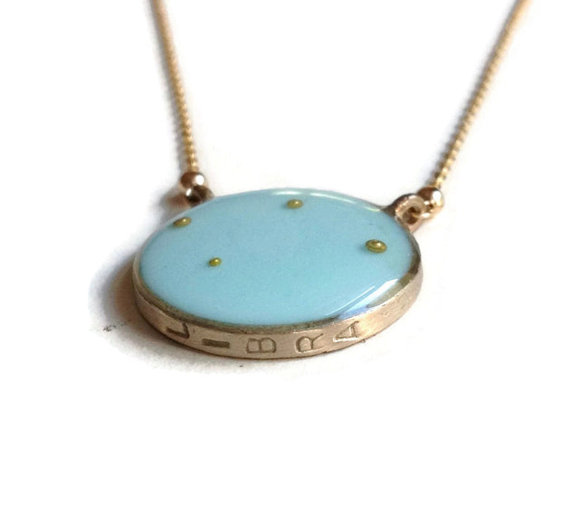 Libra Constellation Necklace Sample
