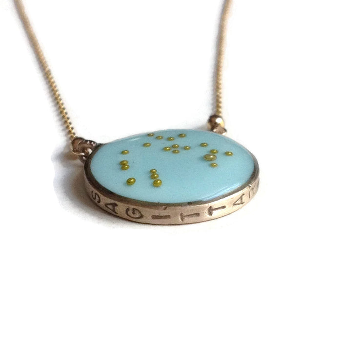 Sagittarius Constellation Necklace Sample