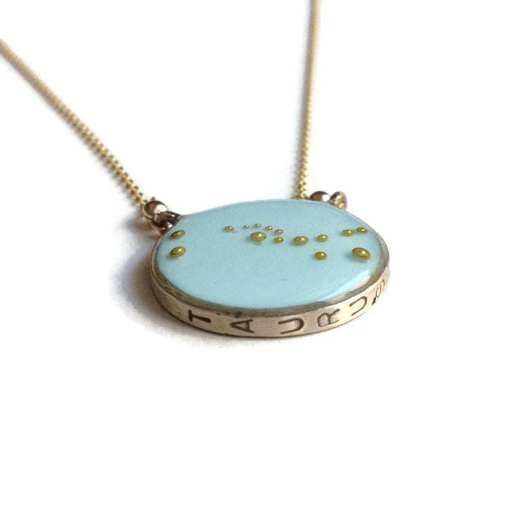 Taurus Constellation Necklace Sample