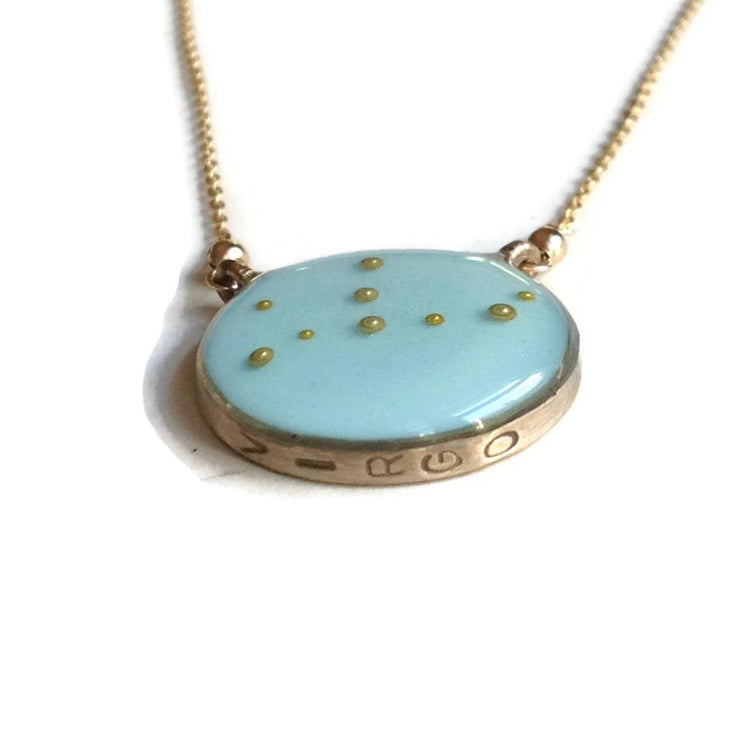Virgo Constellation Necklace Sample