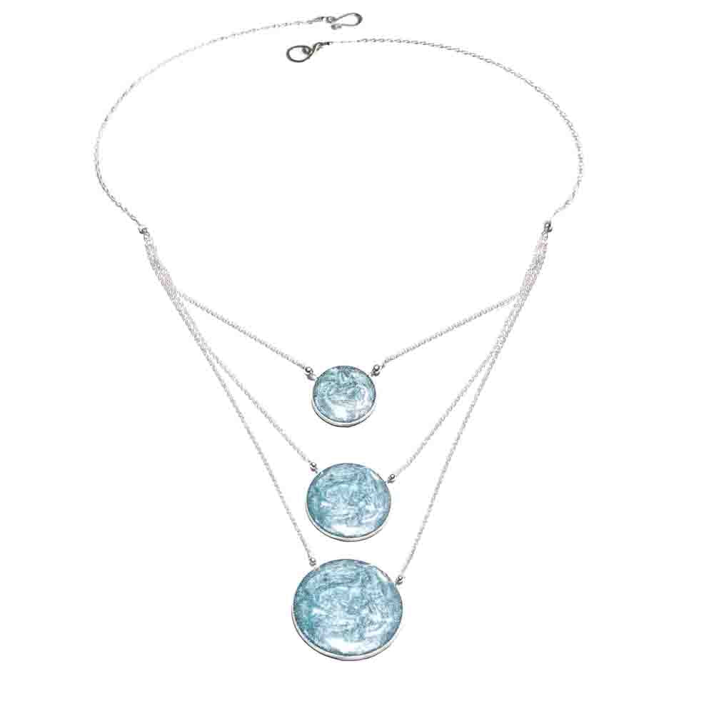 Aegean 3 Circle Necklace | Carla De La Cruz Jewelry