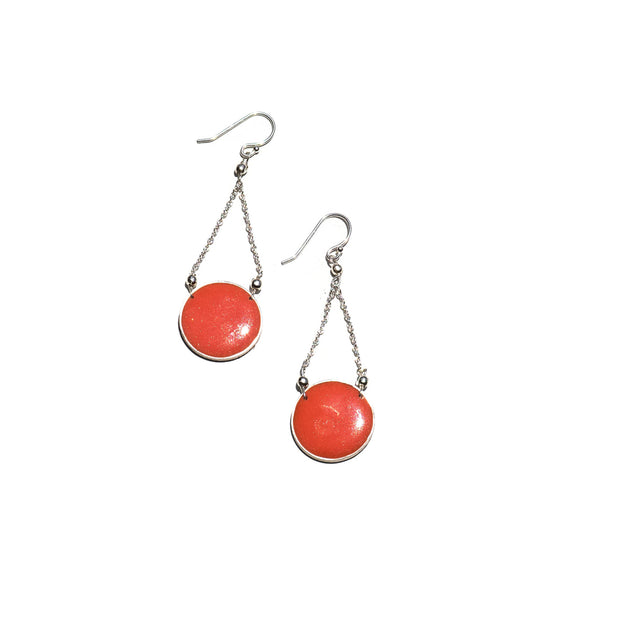 Aegean Circle Drop Earrings