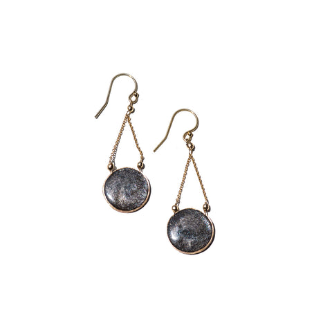 Aegean Circle Dangle Earrings