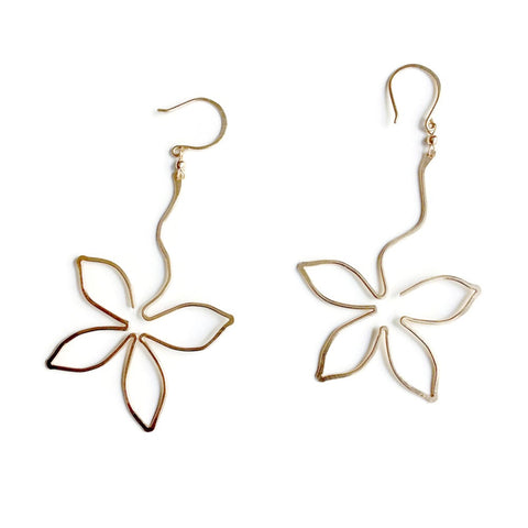 Anthos Flower Dangle Earrings