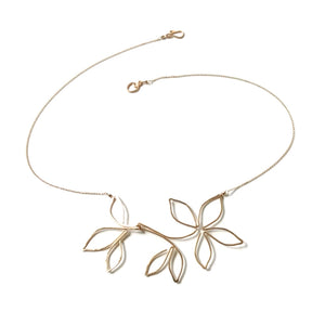 Anthos Flower Necklace