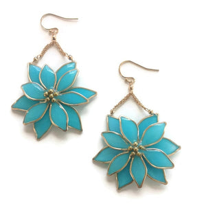 Anthos Flower Drop Earrings