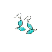 Anthos Leaf Drop Earrings Petite