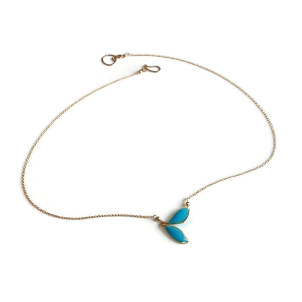 Anthos Petite Leaf Necklace
