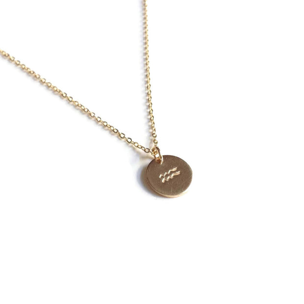 Zodiac Charm Couples Necklace