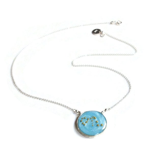 Aquarius Necklace | Aquarius Constellation Necklace | Aquarius Zodiac Necklace by Carla De La Cruz Jewelry