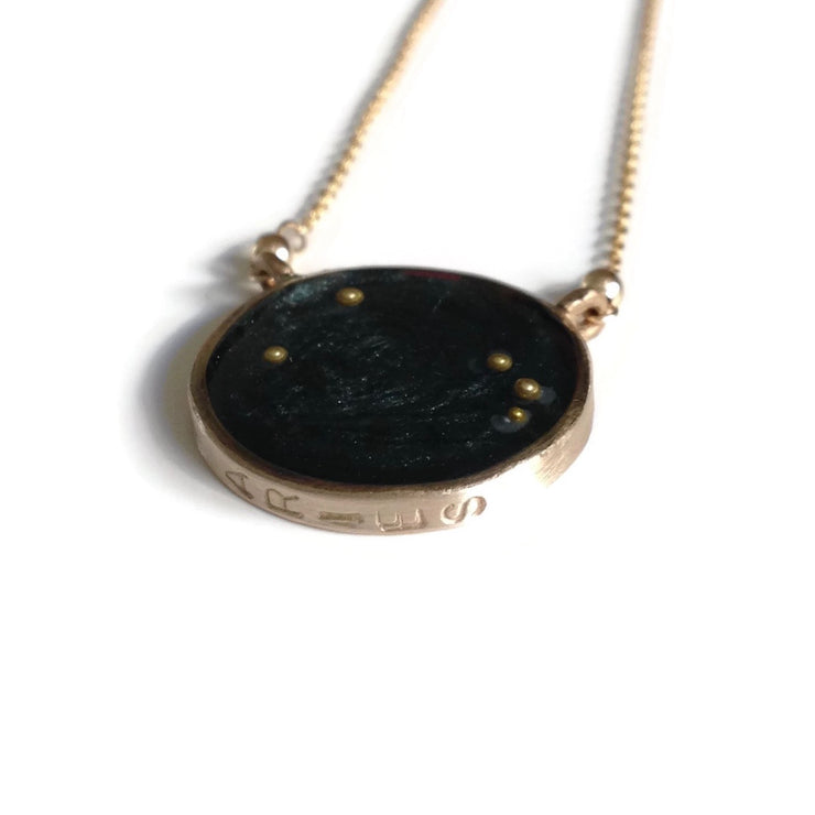 Aries Constellation Necklace Night Sky | Aries Zodiac Necklace Gold | Aries Necklace | Aries Gift | Astrology Necklace | Zodiac Sign Jewelry