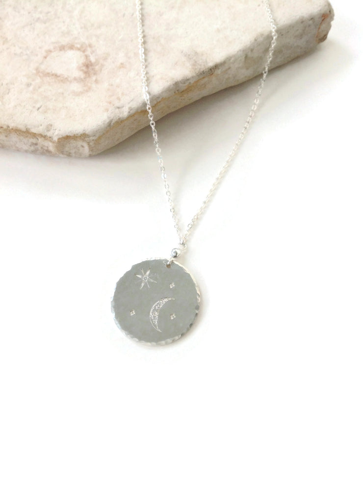 Celestial Disc Necklace