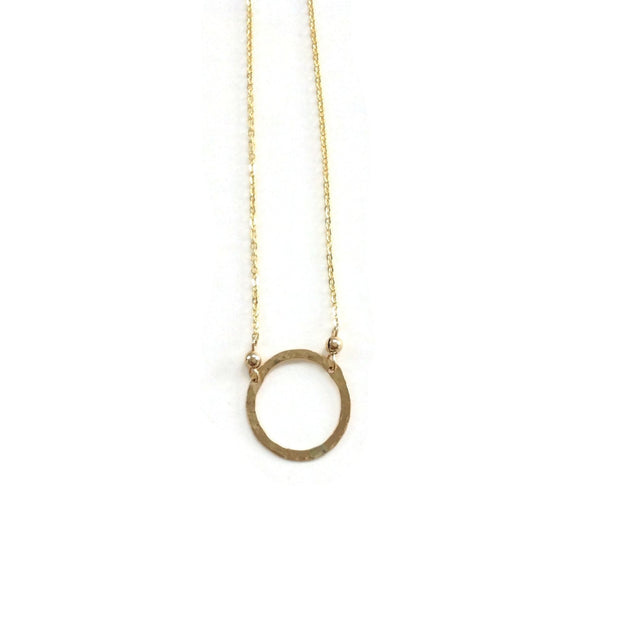 Elafri Circle Necklace Small