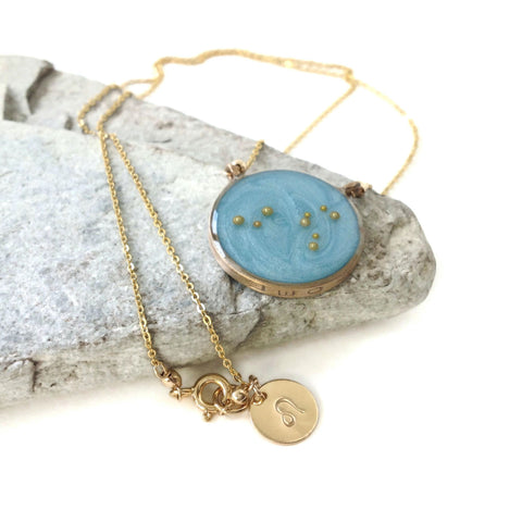 Gold Leo Constellation Necklace | Leo Necklace | Celestial Jewelry