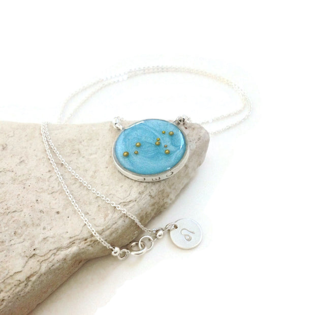 Leo Constellation Necklace | Leo Necklace Silver | Celestial Jewelry