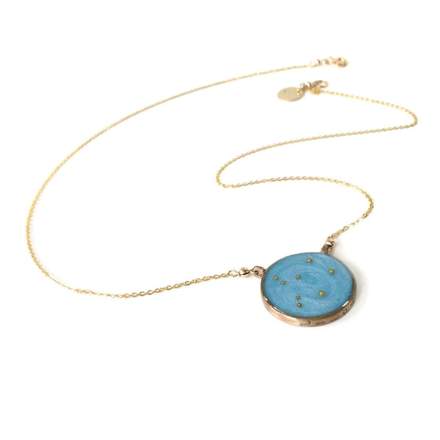 Gold Libra Constellation Necklace | Libra Zodiac Necklace | Libra Gifts