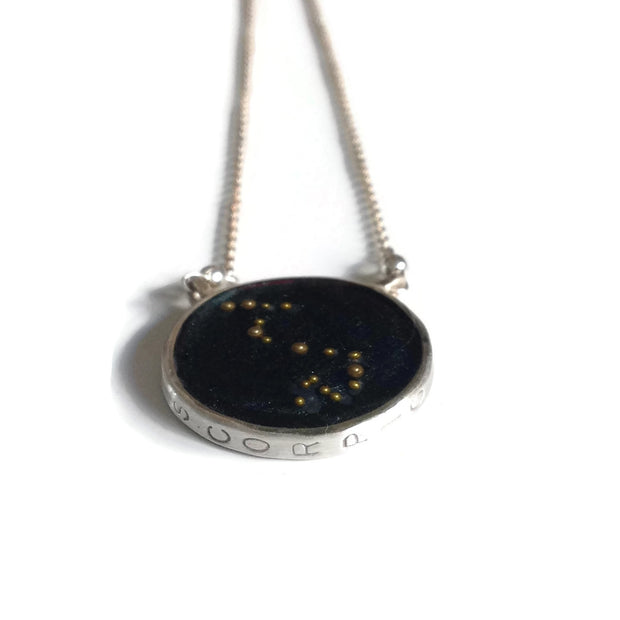Scorpio Constellation Necklace Night Sky