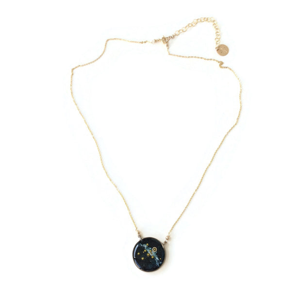 Solar System Necklace | Galaxy Necklace | Carla De La Cruz Jewelry